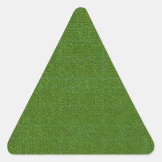 DIY Art Tools - ART101 Green Rich Surfaces Triangle Sticker