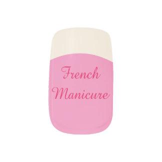 DIY - Arte del clavo de la manicura francesa Pegatinas Para Uñas
