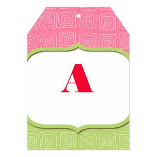 DIY Banner Alphabet Card Cute Birds Modern Shower