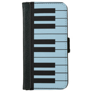 DIY Black Piano Keys on Any Color iPhone 6/6s Wallet Case