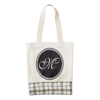 DIY Button - Customize your monogram & ideas Zazzle HEART Tote Bag