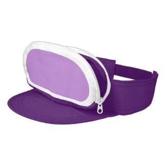 DIY Cap-Sac Visor BLANK Custom PURPLE HAT F09