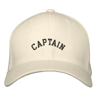 DIY Captain, Vessel ...embroidered hat