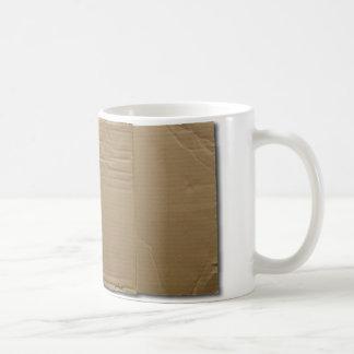 DIY cardboard sign Coffee Mug
