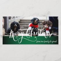 DIY Christmas Photo Card