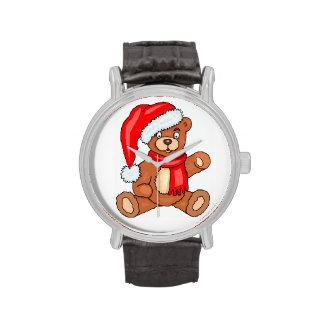 DIY Christmas Santa Bear Watch