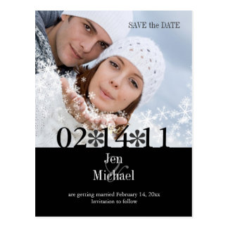 DIY Color Photo Save the Date Post Cards