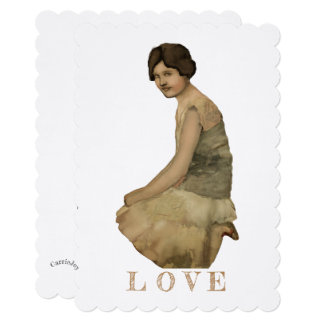 DIY Craft Ephemera Vintage Image Set for Art Card