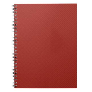 DIY crean su propio estallido rojo del artículo de Cuaderno