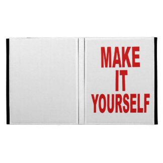 DIY crean su propio iPad de encargo 1, el folio 2