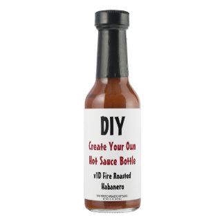 DIY crean su propio regalo V01D de la botella de Salsa Picante