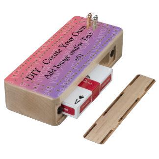 DIY crean su propio tablero de Cribbage de encargo Cribbage De Arce