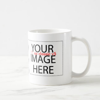 DIY Create a Unique Zazzle Drinkware Gift Item A05 Coffee Mug