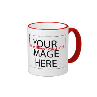 DIY Create a Unique Zazzle Drinkware Gift Item A15 Ringer Coffee Mug