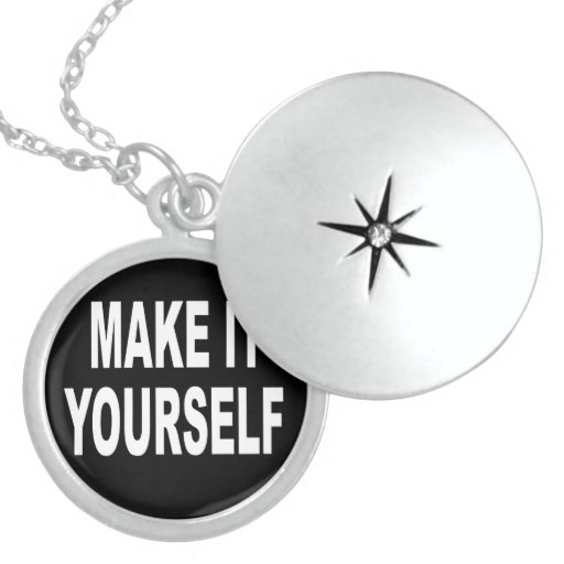 """DIY Create Your Own 18"""" Sterling Silver Locket"""
