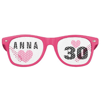 DIY Create Your Own 30th BIRTHDAY or ANY YEAR A62C Retro Sunglasses
