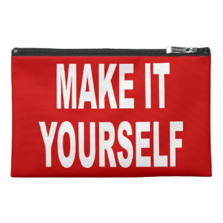 DIY Create Your Own 9x6 Toiletries Travel Accessories Bag