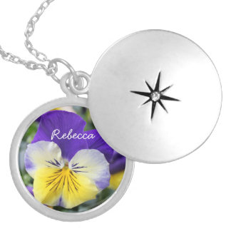 DIY, Create your own, add your picture or text. Round Locket Necklace