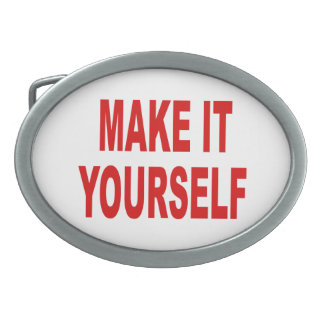 DIY Create Your Own Belt Buckle