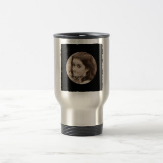 DIY Create Your Own Black Personalized Photo Frame Mugs