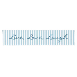 DIY Create Your Own Custom Color Stripes Quote A02 Short Table Runner