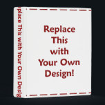 """DIY Create Your Own Custom Personalized Template Mini Binder<br><div class=""""desc"""">Make your own custom, printed photo memory, recipe or business mini binder with this simple DIY template. Easily add your own pictures and learn how to add personalized text with Zazzle&#39;s tools. INSTRUCTIONS: First, &quot;Change&quot; the three template images to your own or &quot;Clear&quot; them to delete. After that, click &quot;Customize...</div>"""