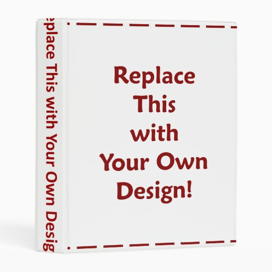 DIY Create Your Own Custom Personalized Template Mini