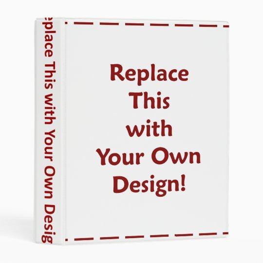 diy create your own custom personalized template mini binder