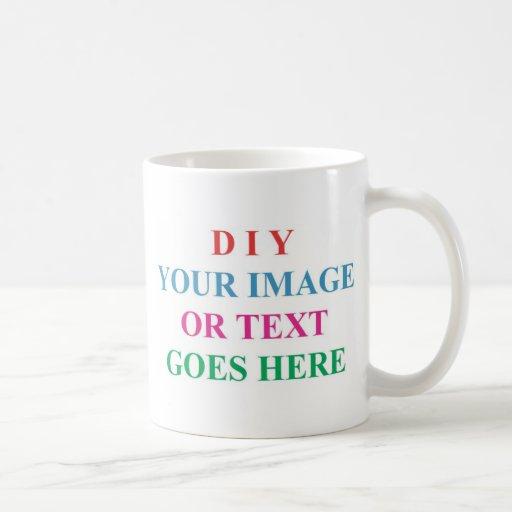 Diy Create Your Own Design Classic White Coffee Mug Zazzle