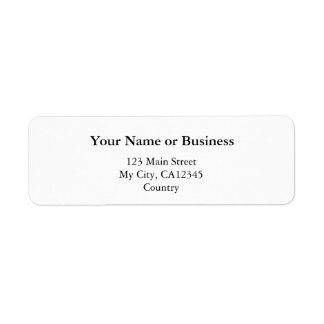 DIY, Create your own home, office and business Label