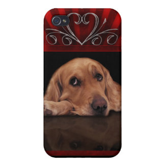 DIY Create your own I love my dog phone case Case For iPhone 4