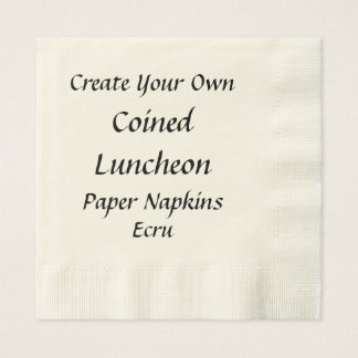 DIY Create Your Own Luncheon Paper Napkins V03