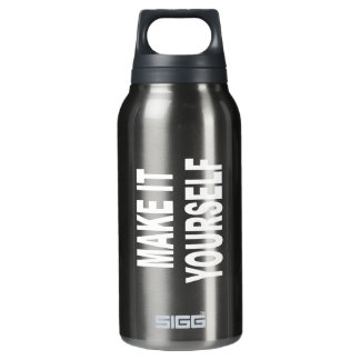 DIY Create Your Own Made In The USA Insulated Water Bottle