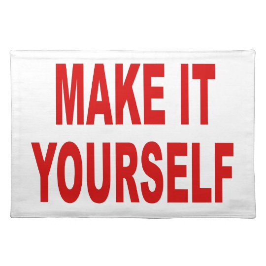 DIY Create Your Own Made In The USA Placemats
