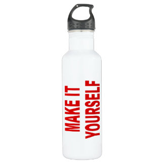 DIY Create Your Own Made In The USA Stainless Steel Water Bottle