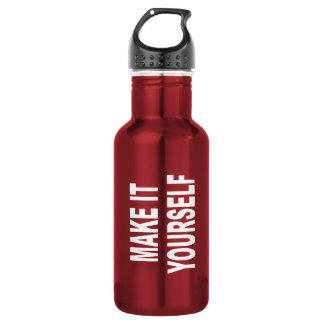DIY Create Your Own Made In The USA Water Bottle