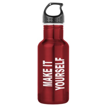 USA Themed DIY Create Your Own Made In The USA Water Bottle