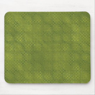 DIY Create Your Own Olive Green Modern Dots Mouse Pads
