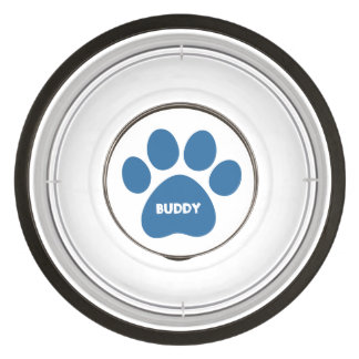 DIY Create Your Own Paw Print Pattern A02 Bowl