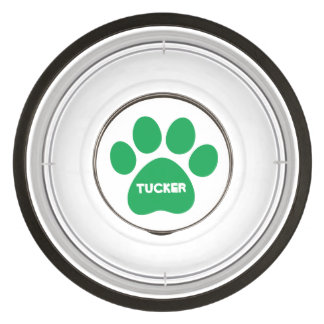 DIY Create Your Own Paw Print Pattern A10 Pet Bowl