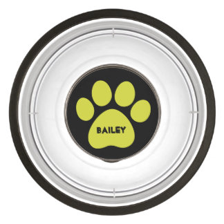 DIY Create Your Own Paw Print Pattern A12 Bowl
