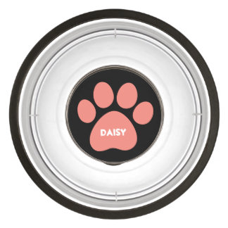DIY Create Your Own Paw Print Pattern A16 Pet Bowl