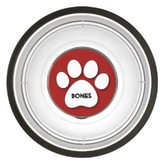 DIY Create Your Own Paw Print Pattern A19A3 Pet Bowl