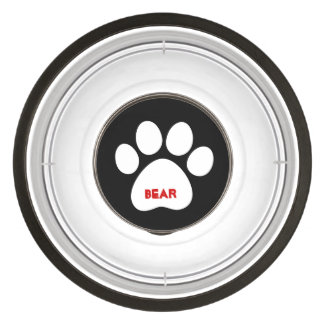 DIY Create Your Own Paw Print Pattern A20 Pet Bowl