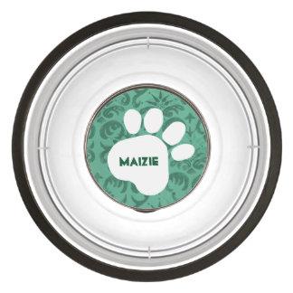 DIY Create Your Own Paw Print Pattern V04E Pet Bowl