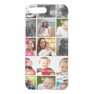 DIY Create Your Own Photo Collage Personalized iPhone 8 Plus/7 Plus Case