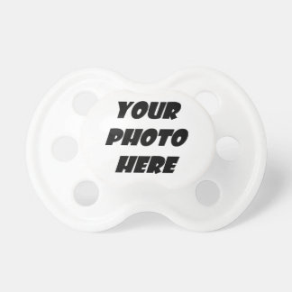 DIY Create Your Own Photo Gift Item Collection Baby Pacifier