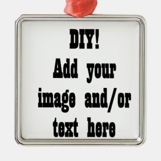 DIY Create Your Own Photo Party Item A02 Metal Ornament