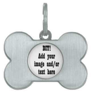 DIY Create Your Own Photo Party Item A02 Pet Name Tag