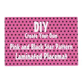 DIY Create Your Own Star Pattern Placemat V04C